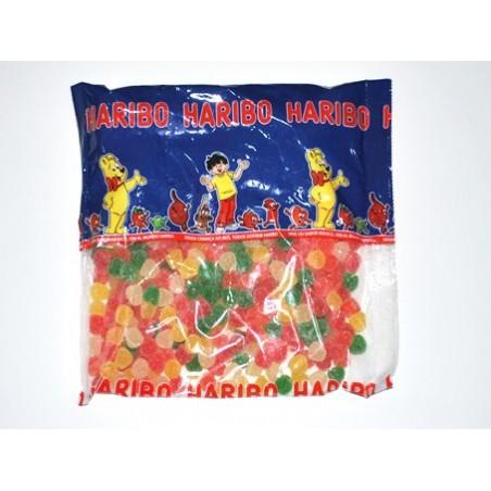 Golosinas gominolas lagrimas fruta