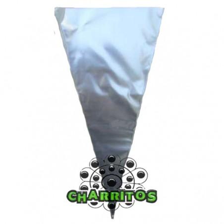 Bolsas cono transparente
